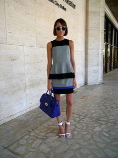 Tibi Look blogger