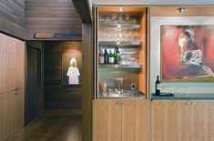 Bar, Trendy Dining Room Photo In Other With Medium Tone Hardwood Floors: Enchanting Creative Home Bar Ideas Home Theater Room Design, Home Theater Rooms, Stainless Steel Kitchen Shelves, Wet Bar Designs, Small Bars For Home, Home Wet Bar, Ikea, Kitchen Models, Beautiful Interior Design