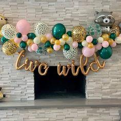2nd Birthday Party For Boys, Second Birthday Ideas, Kids Birthday Themes, Baby Birthday, Safari Party, Balloon Garland, First Birthdays, Halloween, Party Ideas