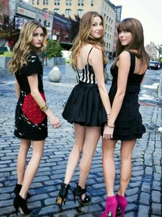 The City Olivia Palermo,Whitney Port and Erin Lucas