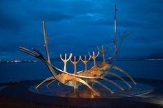 Die am häufigsten fotografierte Skulptur Islands steht in Reykjavik Flora Und Fauna, Island, Fire And Ice, Sculpture, Pictures, Islands