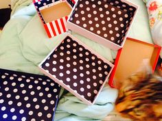 Packages, Boxes, and Bags: Home Decor D.I.Y.'s: Ft. Reused Items!