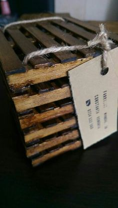 Mini Pallet Coasters ready for shipping