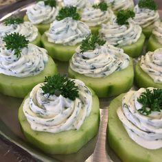 Recipe—Herbed Cucumber Bites