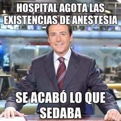 Sin anestesia. #mprats