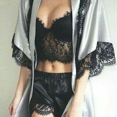These are the 10 best sites for sexy and cheap lingerie! Buy Plus Size Sexy Nightwear and Women Sexy Mini Nightgowns at fashion cornerstone. Sexy Lingerie for the perfect occasion. Lingerie Satin, Lingerie Look, Cheap Lingerie, Jolie Lingerie, Pretty Lingerie, Beautiful Lingerie, Black Lingerie, Lingerie Shorts, Lingerie Underwear