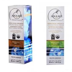 Combo Cremas Orgánicas Hidratante   Nutritiva - Aname Vio Personal Care, Products, Moisturizer, Cream, Self Care, Personal Hygiene