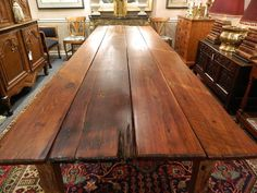 rustic farm table -