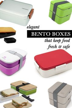 6 Elegant Bento Boxes That Keep Your Food Fresh & Safe Best Bento Box, Boite A Lunch, Food Trip, Cool Kitchen Gadgets, Kitchen Products, Lunch Boxes, Lunch Time, Traditional Japanese, Life Organization