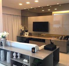 Só estou querendo isso pro meu domingo: uma sala de TV super aconchegante para um bom filme  Ótima inspiração!!! ❤️❤️❤️ - #sala #saladetv #blog #site #decoração #arquitetura #acasaqueeuquero #novidades #instagram