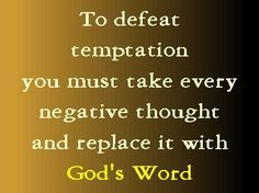 take every thought captive to obey Christ 2 Corinthians 10:5 ESV