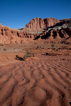 Rippled Sandstone at Capitol Reef National Park | Jeff Sullivan