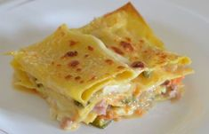 Light Vegetable Lasagna WW - Dish and Recipe - vegetarian Vegetarian Zucchini Lasagna, Vegetarian Recipes, Cooking Recipes, Healthy Recipes, Weight Watchers Vegetarian, Healthy Diners, Weight Watcher Dinners, Special Recipes, Base