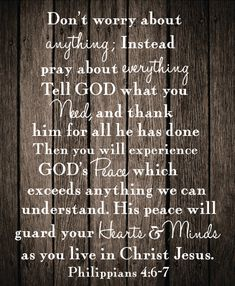 Philippians One of my favorite verses❤️ Scripture Verses, Bible Verses Quotes, Bible Scriptures, Philippians 4 6 7, Its Okay Quotes, Bible Text, Power Of Prayer, Faith In God, Word Of God