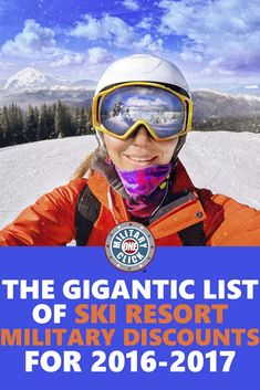 The Gigantic List of Ski Resort Military Discounts for 2016-2017