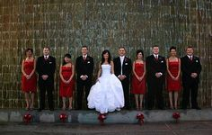 cheri--Flowers, Reception, Hair, White, Ceremony, Red, Dress, Makeup, Bridesmaids, Black, Inspiration, Board, Jewelry, Shoes