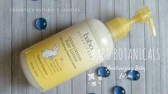 Babo Botanicals: Moisturizing Baby Lotion  Babo Botanicals Bebé y niños cosmetica natural Hidratación
