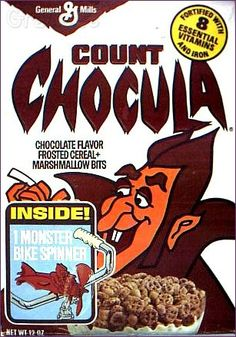 General Mills #cereal #retro  Count Chocula