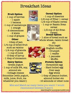 healthy breakfast tips guide care health food Healthy Habits, Get Healthy, Healthy Recipes, Healthy Foods, Eating Healthy, Health Breakfast, What's For Breakfast, Breakfast Healthy, Breakfast Options