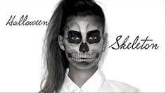 Lufy - Squelette - Maquillage Halloween Facile - Skeleton - YouTube