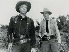 Gary Cooper and Burt Lancaster in Vera Cruz