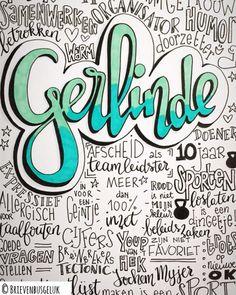 • Gerlinde • ©️ ⚕️ Vandaag nam Gerlinde afscheid als teamleidster in het ziekenhuis. Na 10 jaar breekt voor haar nu een nieuwe periode…