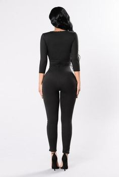 b9ca0f2e14b5 Body And Soul Jumpsuit - Black Body And Soul