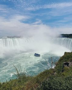 "Instagram의 @joungesu님: ""자연의 힘은 대단해 #나이아가라 기다려라 다시 온다 !!!!!💙"" Niagara Falls, Earth, Nature, Travel, Naturaleza, Viajes, Destinations, Traveling, Trips"