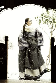 South Korean hanbok by designer Kim Min Jeong