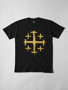 caddfdf45 Flatlay front Golden Color, Symbols, Classic T Shirts, V Neck T Shirt,