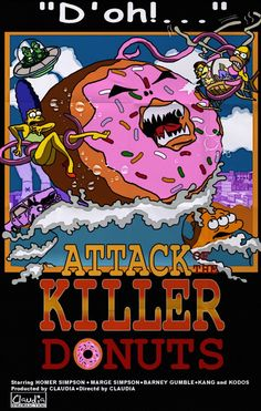Attack of the Killer Tomatoes #simpsons