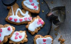 Ingefærkagefigurer |       Femina Eat Smarter, Biscotti, Sugar, Cookies, Desserts, Food, Spice, Oat Cookies, Dessert Ideas