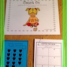 Number Sense Math Centers from The Teacher's Treasure Chest