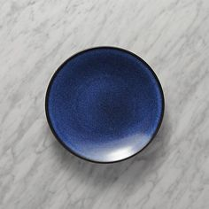 Jars Tourron Blue Salad Plate | Crate and Barrel