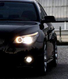 BMW E60 5 series black