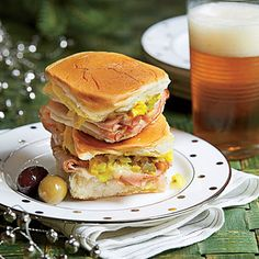 Cuban Sliders - Holiday Finger Food Appetizers - Southern Living