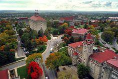 Beautiful University of Kansas #ku #jayhawks