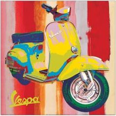 1564 POP ART A CUSTOM CHOPPER L ART PRINT POSTER