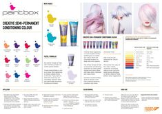 The Fudge Paintbox range with application and care instructions.