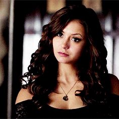 Nina Dobrev as Katherine Pierce. I have always been fascinated by how Nina Dobrev so easily can Switch between The Sweet and Cute Elena and the Sexy and witty Katherine, Even Being able to Change her body Language Perfectly.