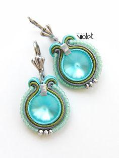 biZSUterie: Soutache earrings - Mini business series