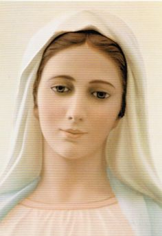 Our Lady of Medjugorje-Message May 25 2015 Mother Of Christ, Blessed Mother Mary, Divine Mother, Blessed Virgin Mary, Madonna, Our Lady Of Medjugorje, Images Of Mary, Mama Mary, Holy Mary