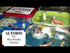Magical Mini Worlds in Altoids Tins - YouTube