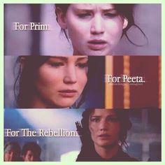 For Prim, For Peeta, For The Rebellion~~~{