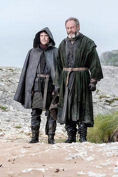 Gendry and Davos Seaworth--season 3