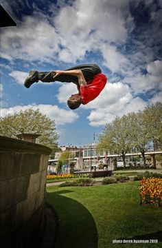Wow! ) #parkour #freerunning #sports