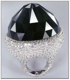 The Spirit of de Grisogono, at 312.24 carats, is the world's largest cut black diamond (extremely rare), and world's 5th largest diamond. When it was discovered the Spirit of de Grisogono weighted 587 carats (117g), the largest natural black diamond ever found.