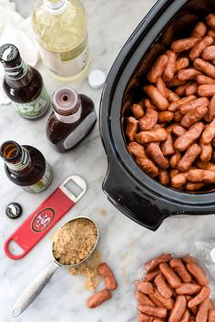 Slow Cooker Little Smokies | foodiecrush.com