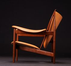 Finn Juhl´s Chieftain chair, designed in 1949 and originally manufactured by Niel Vodder, Denmark.