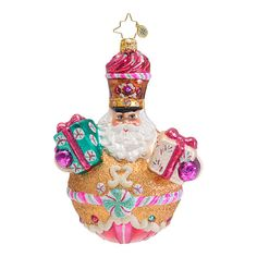"Christopher Radko Ornament - ""Sweetly Suited"""